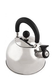 "2 Liter dome shape stainless steel stove top kettle with handy flip top whistle.<BR><BR><b class=""descTitle"">Dimensions:</b><BR>H Mr Price Home, Stainless Steel Stove, Home Decor Online, Own Home, Kettle, Home Furniture, Kitchen Appliances, Design, Bachelorette Ideas"