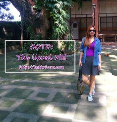 OOTD: The Usual ME | Dear Kitty Kittie Kath- Beauty, Fashion, Lifestyle, and Mommy Blog