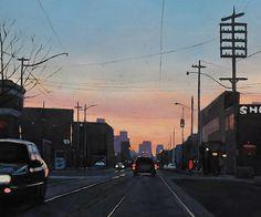 Shop, David Marshak (2013) oil on canvas 30in × 40in × 1in