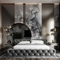 Modern Luxury Bedroom, Luxury Dining Room, Modern Bedroom Design, Luxurious Bedrooms, Hotel Bedroom Design, Master Bedroom Interior, Bedroom Furniture Design, Bedroom Decor, Bedroom Ideas