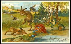 Old-Fashioned Easter: Creepy As Hell