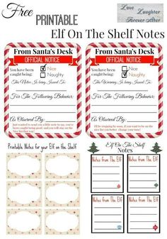Latest Pictures Free Printable Elf on the Shelf Notes Concepts Surprise the kids with special note from your Elf. Get these printable Elf On The Shelf Notes Elf On Shelf Notes, Elf On The Shelf, Shelf Elf, Christmas Activities, Christmas Traditions, Elf Auf Dem Regal, Elf Letters, Kindness Elves, Kids Notes