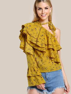 4e2f30aa Meaneor Women Floral Print Blouse Tops 1950s 60s Vintage Autumn Clothing  Casual Roll Up Sleeve Cotton Fabric High Quality Blouse in 2018 | Products  ...