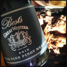 @mitchell_harris  Dinner ripper Western Victoria job w @BestsWines YV PM alongside amazing slow-roasted @GreenvaleFarm Jumbuck shoulder. pic.twitter.com/zUAiSFDJ  Jumbuck shoulder incredible meat. Slow-cooked in weber over 7h,cd handle a big wine but YV PM lifted it nicely.