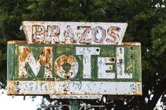 A0144 - Brazos Motel, Granbury Texas
