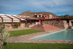 Taliesin West - we visited this site with our friend in AZ.