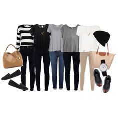 """""""Airport Outfit"""" by missdelrio on Polyvore"""