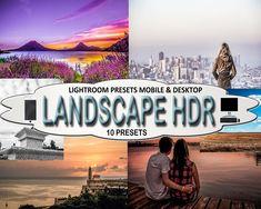 Landscape HDR Mobile and Desktop Lightroom Presets, Travelers Presets Edit Your Photos, Old Photos, Hdr Photography, Landscape Photography, Old Photo Restoration, Photo Fix, Photo Repair, Professional Lightroom Presets, Photo Editing