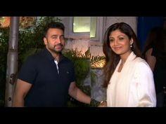 Shilpa Shetty with husband Raj Kundra SNAPPED at Olive Bar.