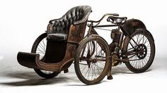 1907 Indian Tri Car from the E J Cole Collection www.steampunktendencies.com