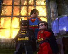 Lego Batman DC Super Heroes first look Lego Batman 2, Batman Robin, I Am Batman, Superman, Lego Dc Comics, Dc Comics Superheroes, Jeux Nintendo 3ds, Lego Universe, Nintendo Console