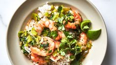 A Cilantro-Lime Shrimp Dinner You Can Make in One Pan | Bon Appetit