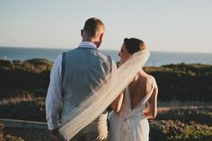 Photo: Sun and Life Photography  Venue: Seymour Discovery Center  Wedding Design Coordination: Coastside Couture Floral: Seascape Flowers #CoastsideCouture #SantaCruzWedding #BeachWedding