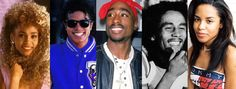 A beautiful collage of some beautiful and powerful spirits. Continue to Rest In Paradise y'all <3