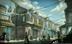 Assassin's Creed - Black Flag concept art , Xu Zhang on ArtStation at https://www.artstation.com/artwork/assassin-s-creed-black-flag-concept-art-07015fa6-653a-49a4-a619-cc9c45c9acef