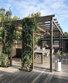 Planning Your Pergola Diy Pergola, Outdoor Pergola, Backyard Patio, Backyard Landscaping, Outdoor Spaces, Outdoor Living, Small Pergola, Pergola Shade, Pergola Designs