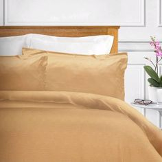 Ponti Home Signature Jacquard Egyptian-Quality Cotton 3 Piece King Duvet Cover Set Bed Covers, Duvet Cover Sets, Bath Table, Interior Decorating, Interior Design, Luxury Bedding Sets, Bed Sets, Table Linens, Linen Bedding