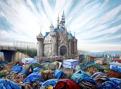 Meet the 'Slumscape' Painter Who Inspired Banksy's Dystopian Theme Park