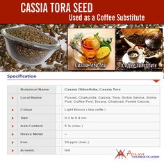 Cassia Tora seed is very hard seeds. It is also bold and small. Cassia plant grows in India after monsoon which comes in June or July.  These seeds are also shiny and are duly machine cleaned. The plant is known for its significant medicinal value. The seeds are bitter and salty in flavour, slightly cold in nature. It can be roasted and ground to be used as a coffee substitute. Visit at http://www.avlasthydrocolloids.com/cassia-tora-seed/.