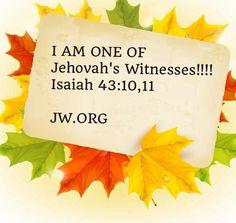 Isaiah 43: 10, 11 www.jw.org