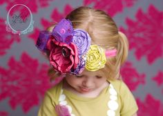 Beyond The Playground Floral Hairpiece