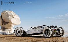 Peugeot XRC by Tiago Aiello , via Behance