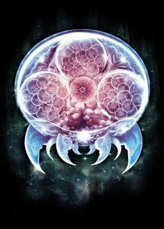 metroid organism surreal fantasy cell samus samusaran nintendo video game gaming real epic