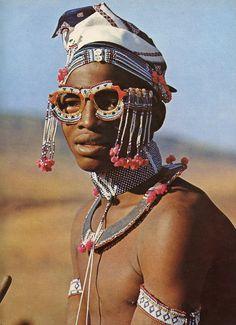 África do Sul no início de 1970, do livro African Elegance.