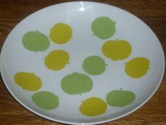 1 Suppenteller 22 cm Melitta LINDAU Apfelmotiv Äpfelchen   eBay 12,50 Top Zustand - 1B Qualität