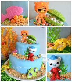 Octonaut Birthday Cake