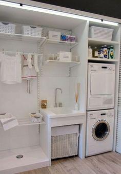 Concealed utility room