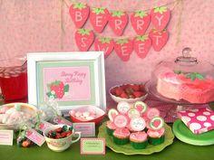 Strawberry party: Ava is 2   Pinterest   Strawberry shortcake ...