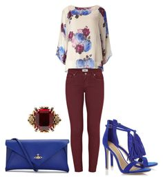 """""""Untitled #7"""" by kipdesigns123 on Polyvore featuring Paige Denim, Vivienne Westwood and Alexander McQueen"""