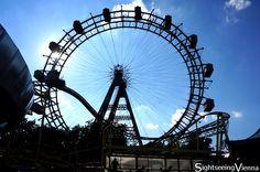 Vienna Prater, Amusement Park, Ferris Wheel, one of Vienna's most famous symbols Vienna Prater, Amusement Park, Ferris Wheel, Fair Grounds, Symbols, Travel, Viajes, Icons, Trips