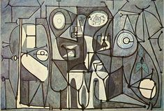 DRAW PAINT PRINT • pablopicasso-art: The Kitchen, 1948 Pablo...