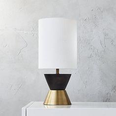 "CB2 Mister Table Lamp - 8"" dia. x 17.75""h - $119"