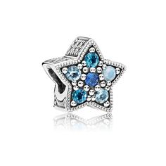 Bright Star Charm, Multi-Colored Crystals - 796379NSBMX - CMAS 2017