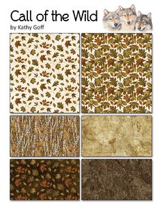 Northcott fabric Call of the Wild Flannel
