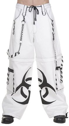 Dead Threads Cyber Goth Rave Pants