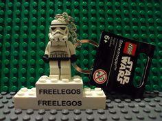 Lego Ninjago Stormtrooper Minifigure Keychain New with Tags | eBay