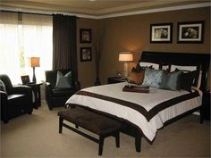Master Bedroom Decorating Ideas Paint Colors Looks just like mine... Down to the furniture, type