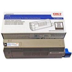 Oki Black Toner Cartridge - Black - LED - 11000 Page - 1 Each