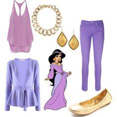 dress like Jazmin Disney Princess Outfits, Disney Dress Up, Disney Outfits, Disney Princesses, Princess Clothes, Movie Outfits, Disney Clothes, Teen Girl Costumes, Halloween Costumes For Teens