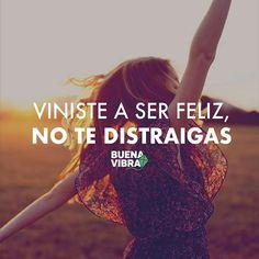 ¡No te distraigas! #Frases #BuenaVibra #Motivacion #Inspiracion