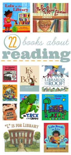 Great list of books about reading to get kids excited!