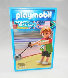 Playmobil 5200 Sportler Hammerwerfer NEU / OVP MIB