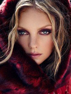 Heather Marks by Xavi Gordo for Elle Russia December 2014
