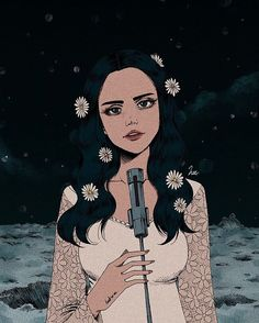 Lana Del Rey #Love fan #art by heezey on Etsy