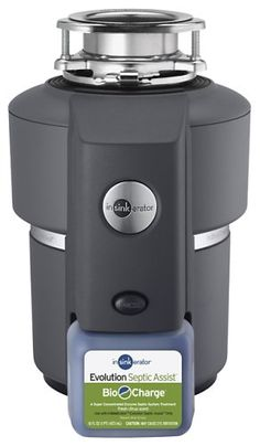Found our wanted disposal on really good sale.   Has a chemical injector to help w/ breakdown of food, since going to aerobic septic system  InSinkErator Evolution Septic Assist 3/4 HP Household Garbage Disposer InSinkErator,http://www.amazon.com/dp/B000G86NUW/ref=cm_sw_r_pi_dp_93CFsb11VSYKT0VM
