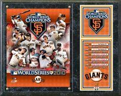 San Francisco Giants 2010 World Series Champions Composite Plaque - BiggSports.com